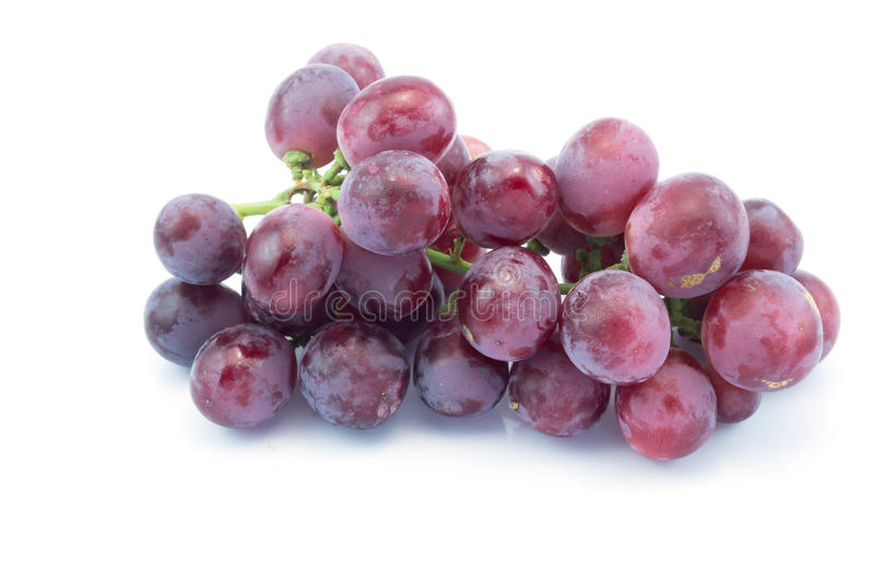 Purple grapes berry stock images