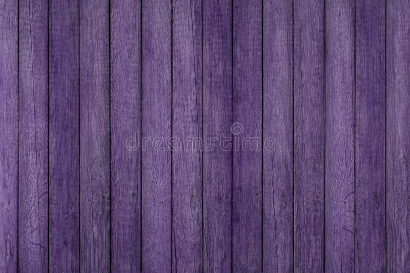 Purple grunge wood pattern texture background, wooden planks. stock images