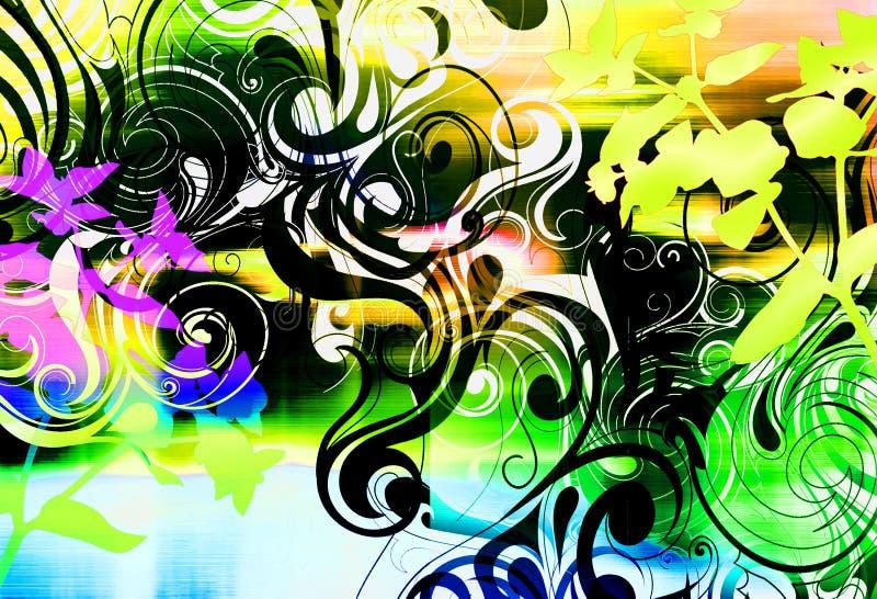 Download Purple Haze stock illustration. Image of scroll, geometric - 7279531