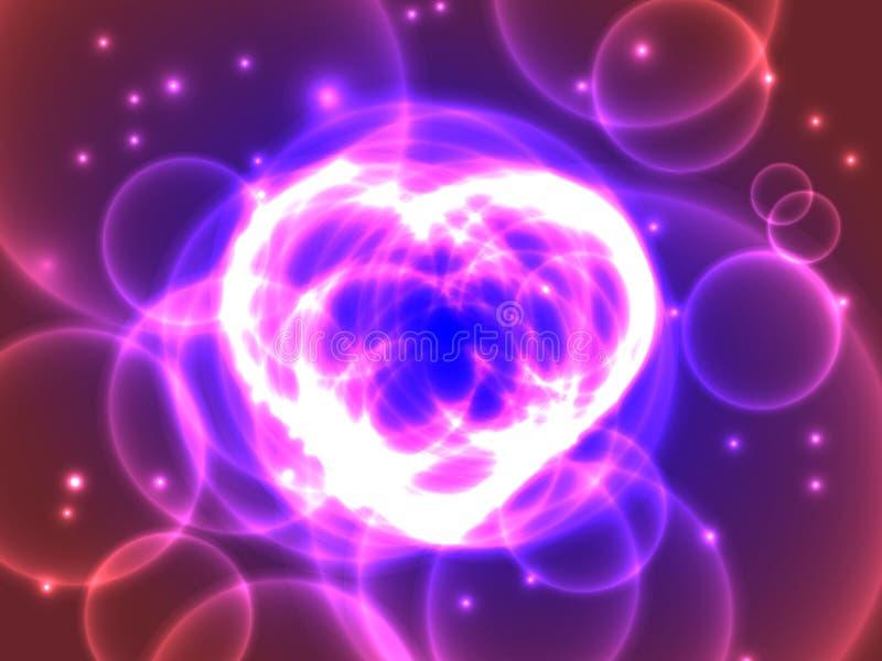 Purple Heart ilustración del vector