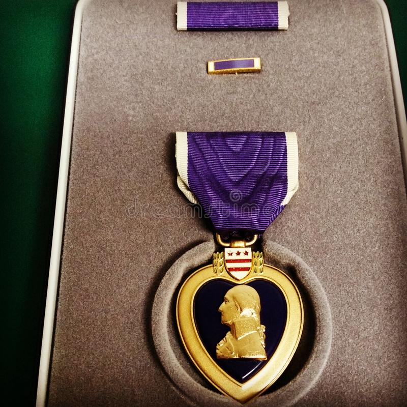 Purple Heart photos libres de droits