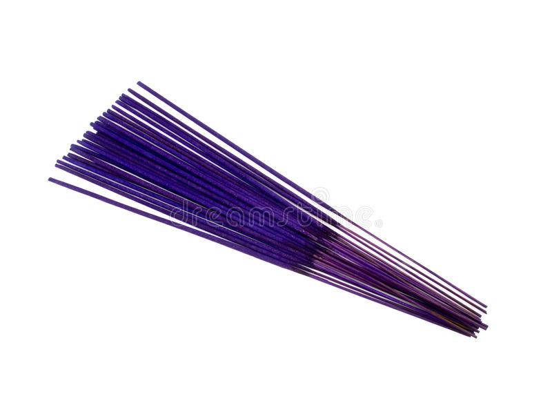 Purple Incenses Stock Photo