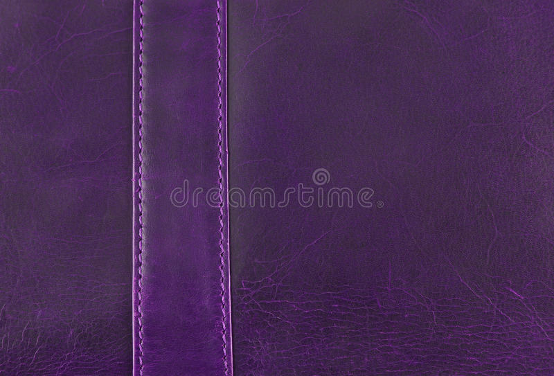 Purple leather texture royalty free stock photography