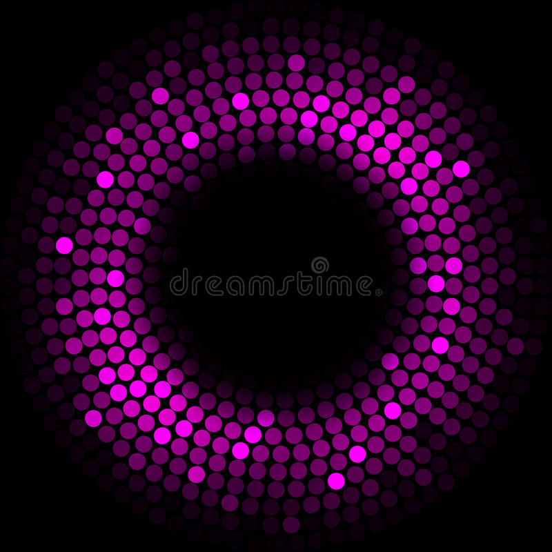 Purple lights royalty free illustration