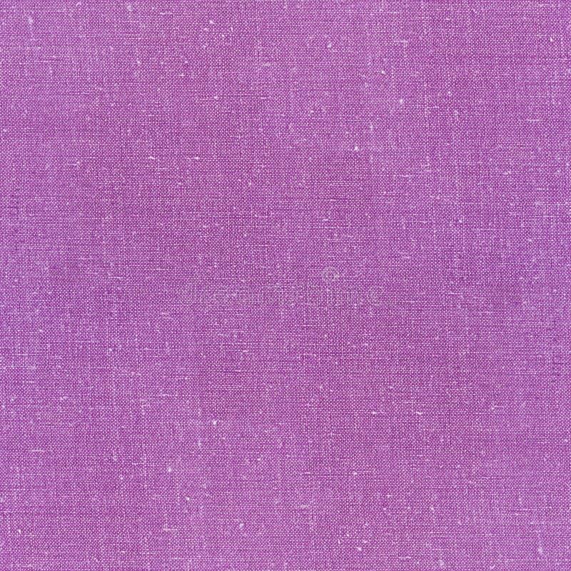 Purple linen napkin. Textured fabric background linen napkin stock image