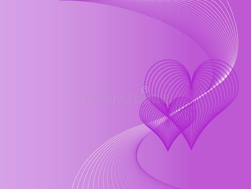 Purple love background royalty free stock photo