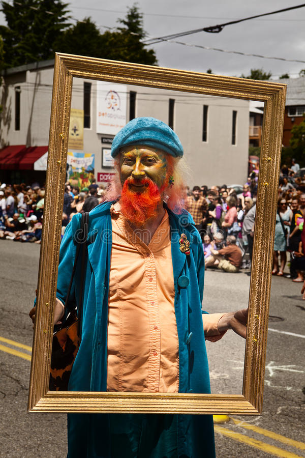 Fremont Solstice Parade Stock Photos, Pictures & Royalty