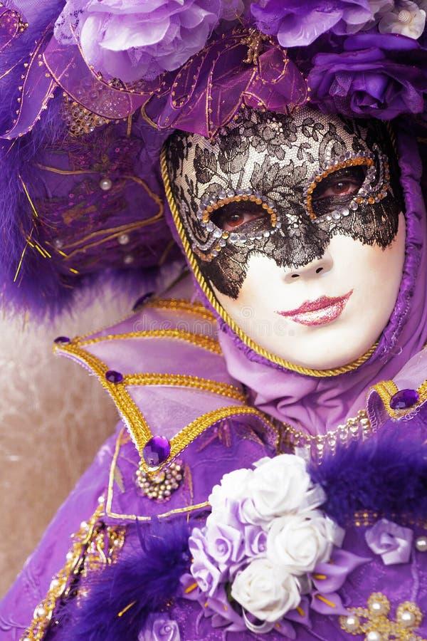 Purple Mask Stock Photos