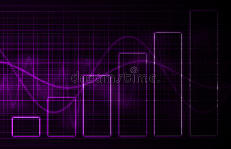 Purple Medical Science Technology Background Royalty Free Stock Photo