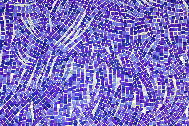 Purple mosaic royalty free stock photo