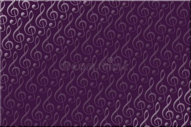 Purple Music Background stock photo