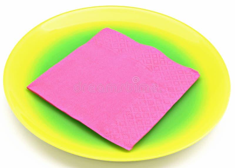 Download Purple napkin stock image. Image of plastic, purple, disposable - 23291133