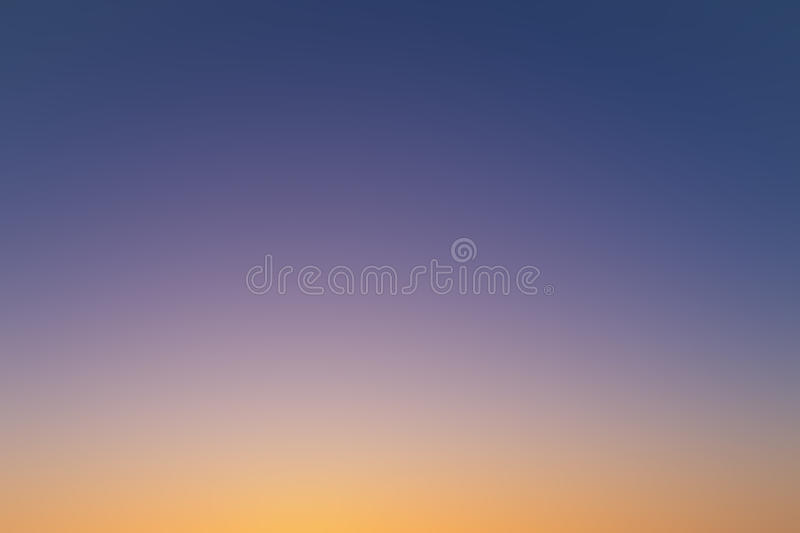 Purple Orange  Abstract Blurred Background Stock Image