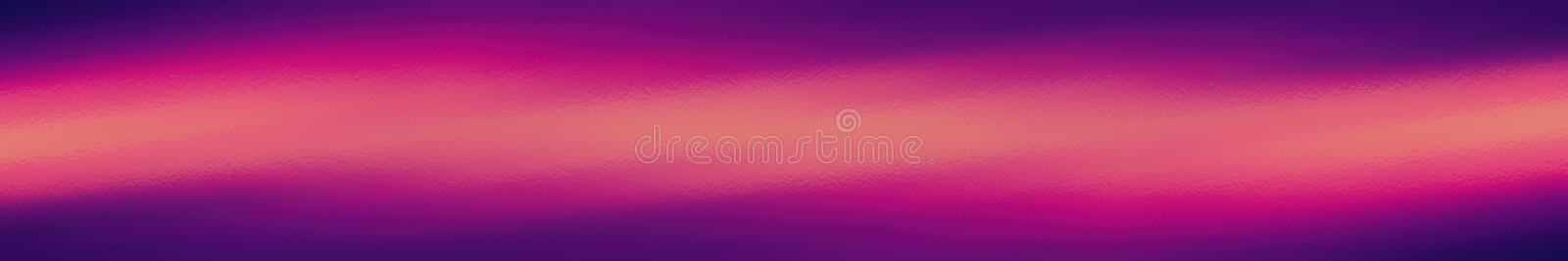 Purple and orange web site header or footer background. Abstract design template royalty free illustration