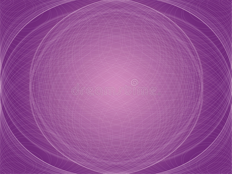 Purple Orb royalty free stock photo