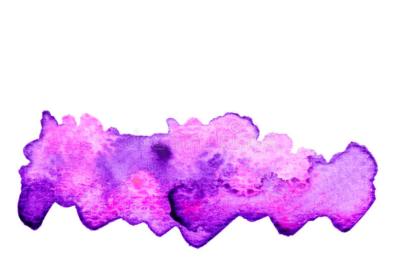 Purple pink watercolor background stock illustration