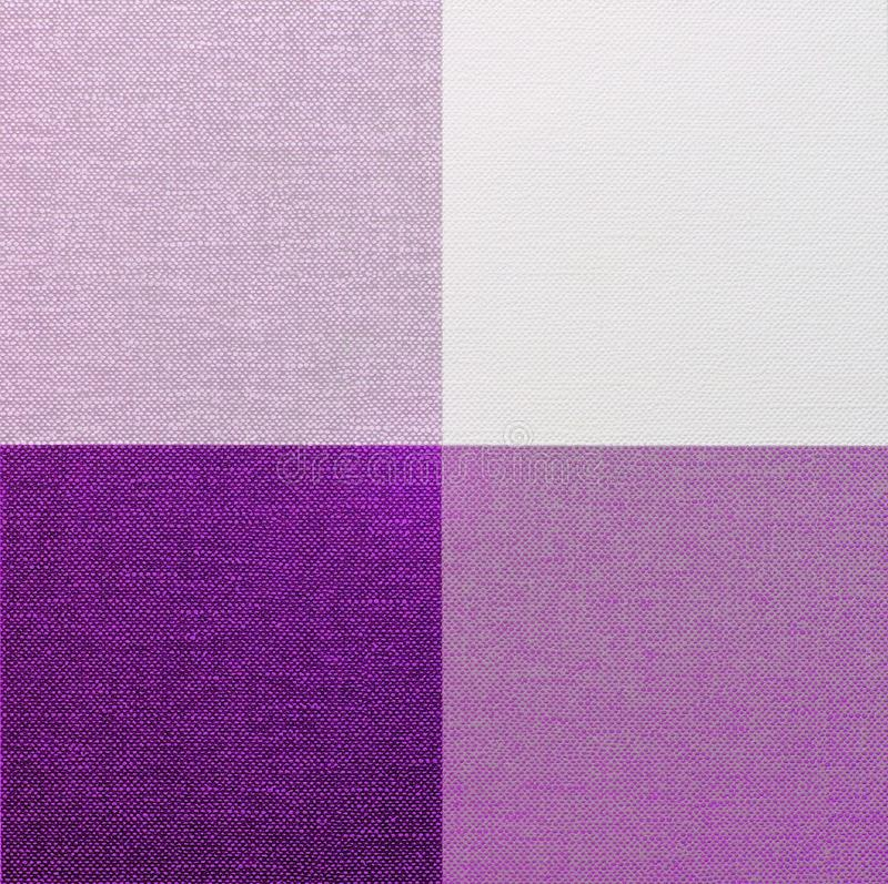 Download Purple, Pink And White Gingham Tablecloth Stock Image   Image Of  Material, Canvas