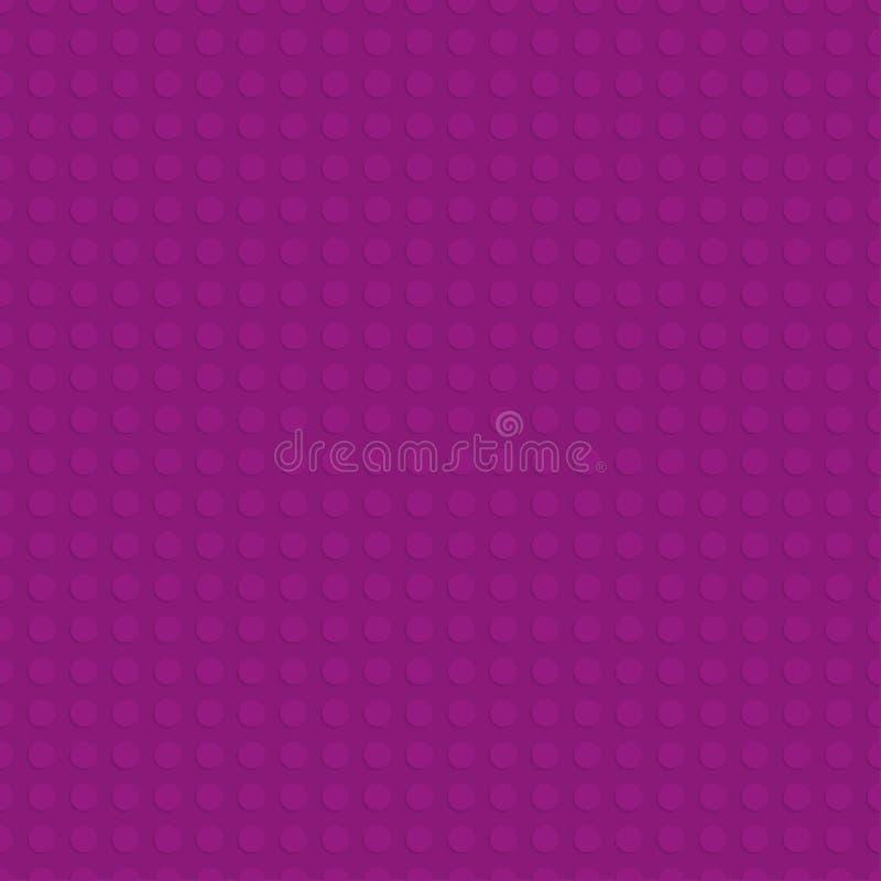Purple plastic construction plate. Seamless pattern background. Vector illustration royalty free illustration