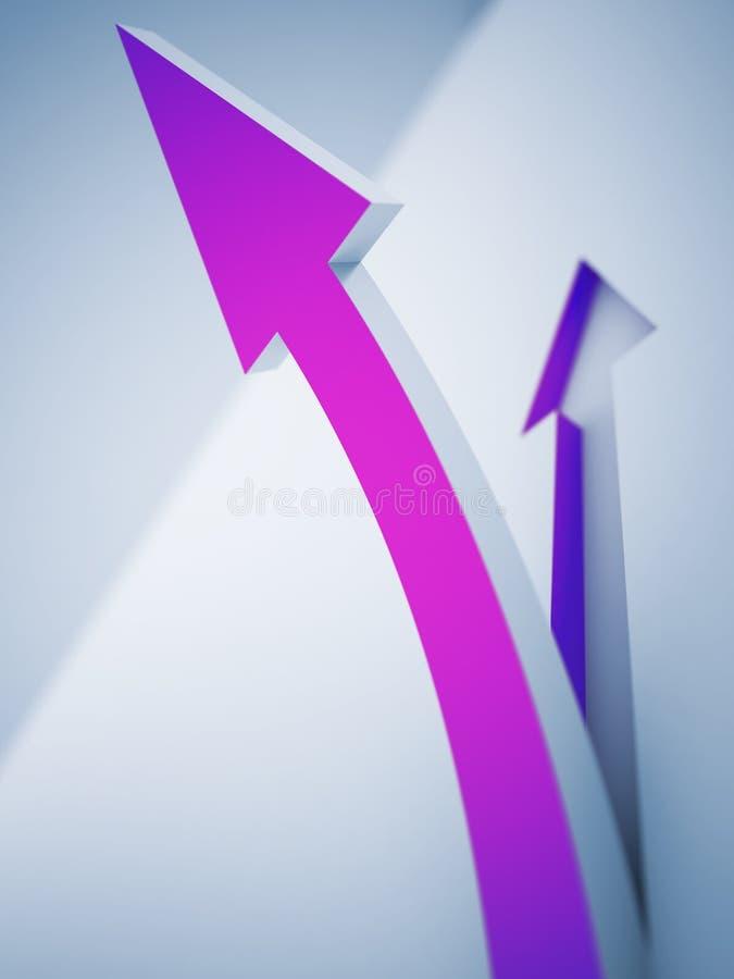 Purple Pointer Stock Photos