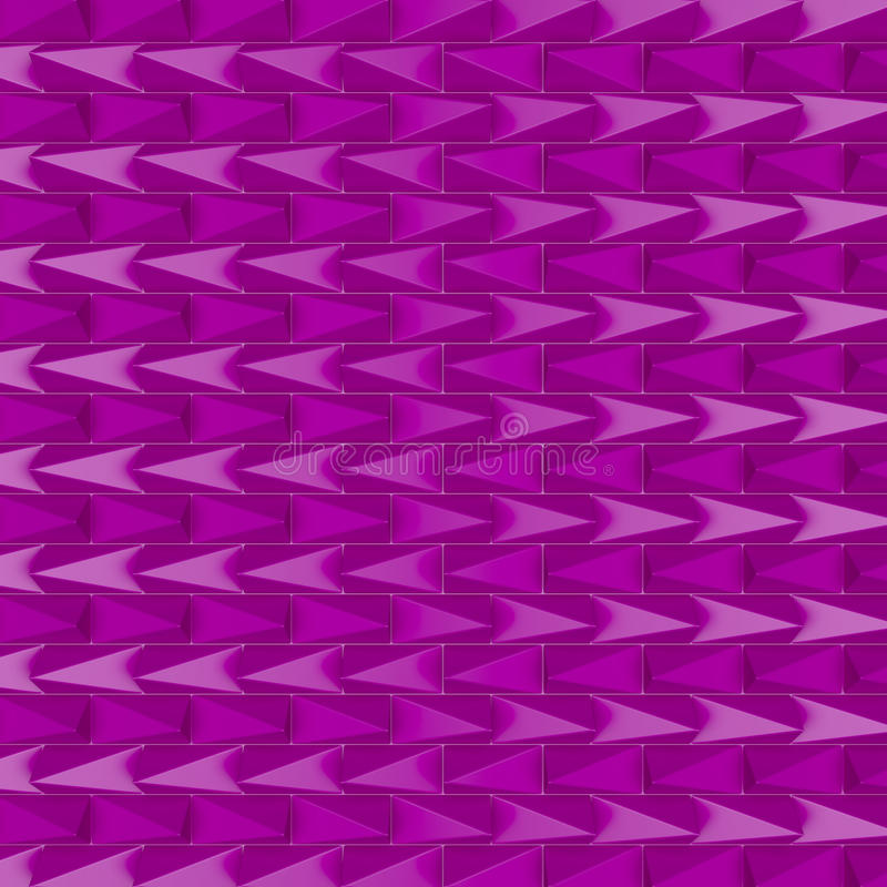 Download Purple pyramids stock illustration. Image of violet, design - 34036834