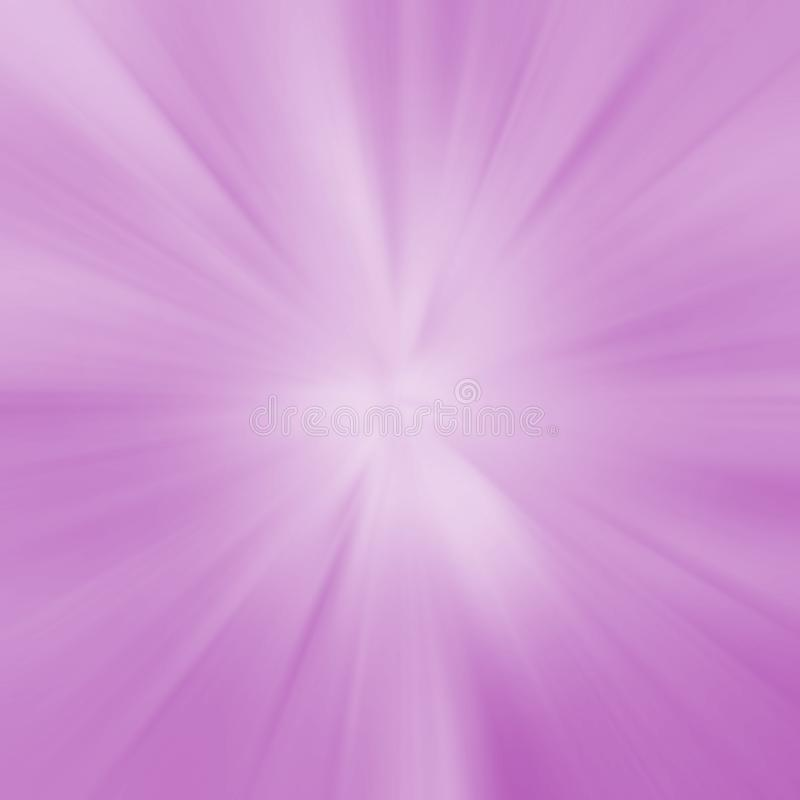Purple rays blurred radiant background. Purple radiant rays abstract blurred background with copy space for text royalty free illustration