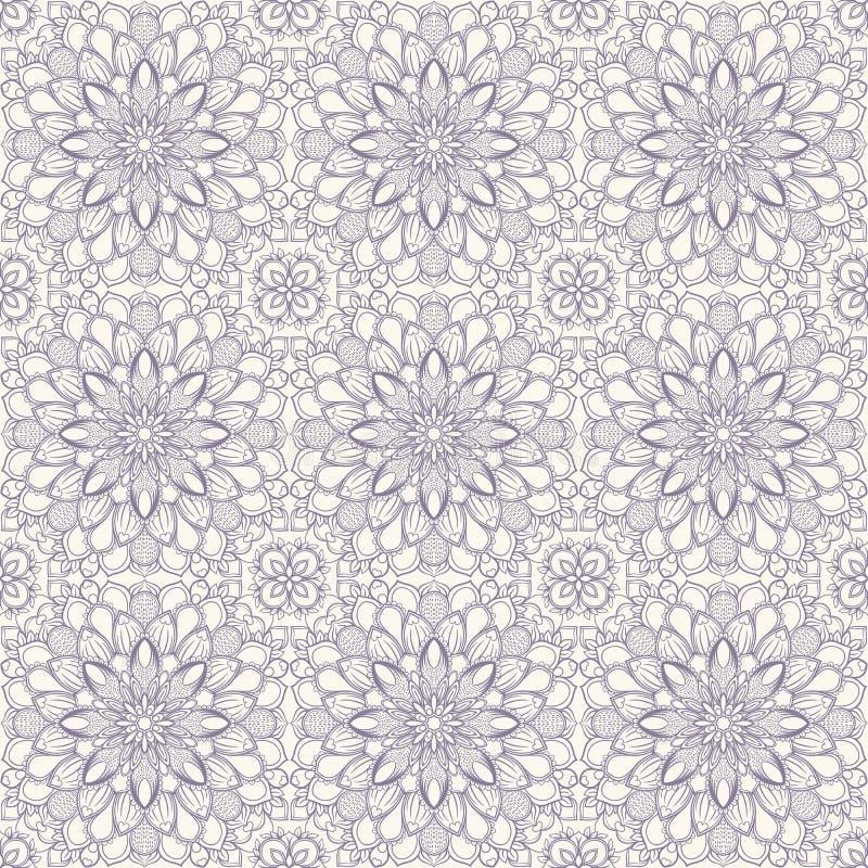 Purple retro pattern vector illustration