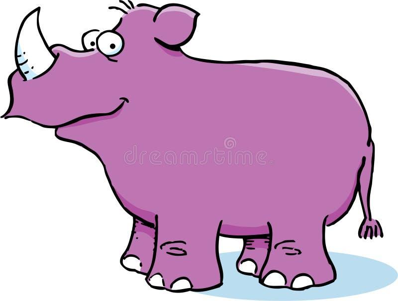 Download Purple Rhinoceros Royalty Free Stock Image - Image: 25455736