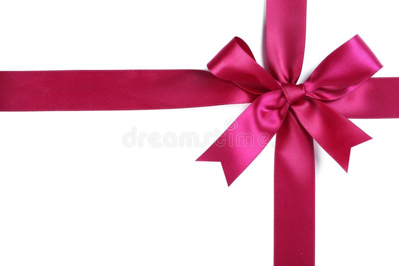 Download Purple Ribbon With Bow Stock Image - Image: 16508391