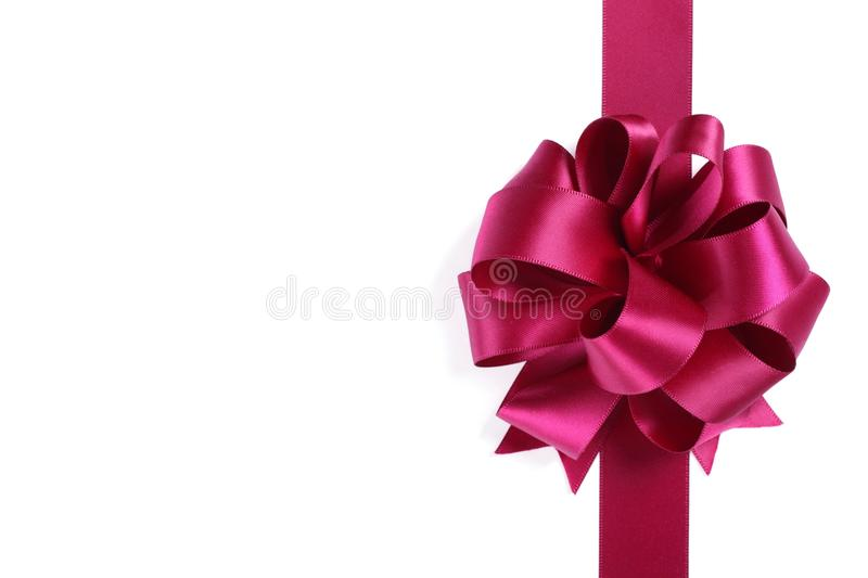 Download Purple ribbon with bow stock image. Image of retail, christmas - 16600541