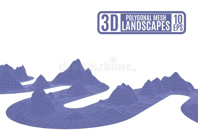 Mountains Line Drawing Stock Illustrations – 1,702 Mountains