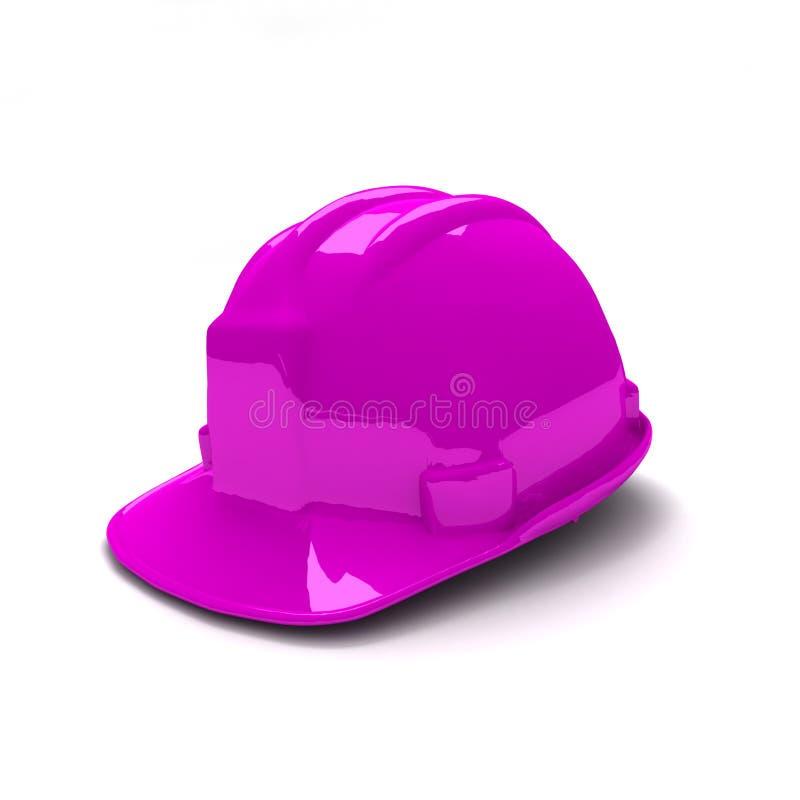 Download Purple safety helmet stock photo. Image of hardhat, headwear - 7337308
