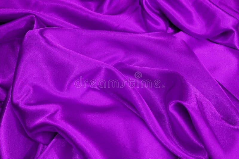 Purple satin stock photos