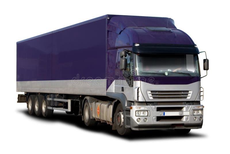 Purple Semi royalty free stock photography