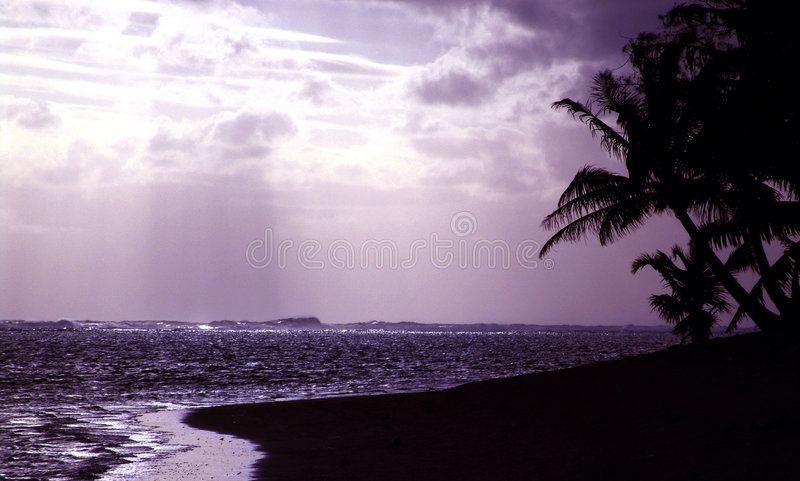 Download Purple Silhouette Sunset stock photo. Image of lagoon, bask - 111446