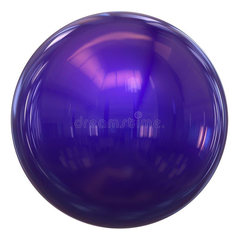 Free Purple Sphere Round Button Basic Ball Circle Geometric Shape Stock Image - 153946501