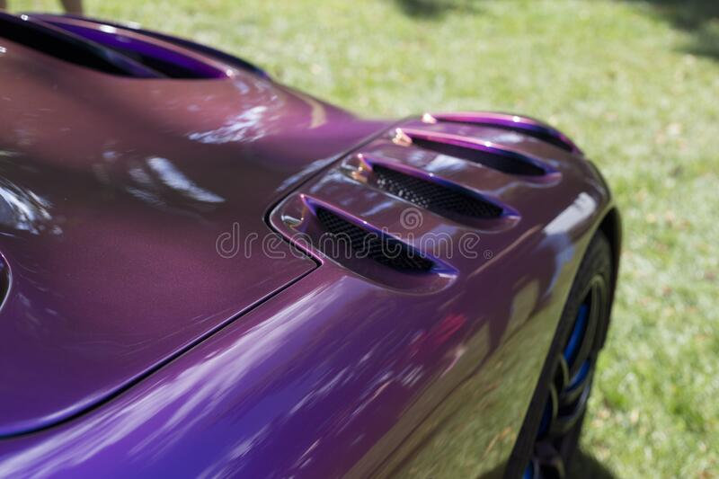 Purple Sport Car During Daytime Free Public Domain Cc0 Image