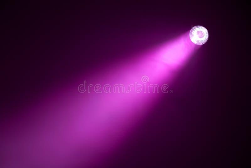 Purple spotlight royalty free stock images