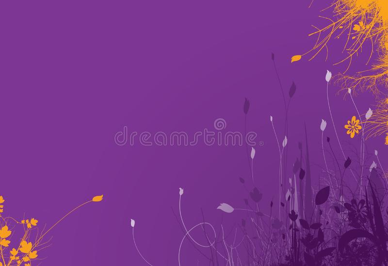 Purple spring background 2 stock photography