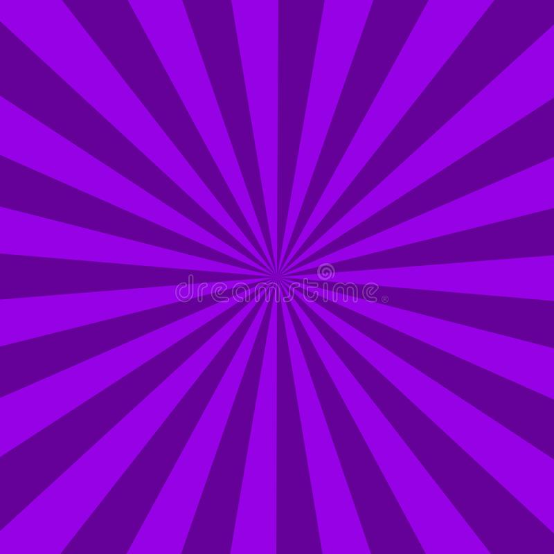Purple sunburst abstract texture. purple shiny starburst background. abstract sunburst effect background. stock illustration