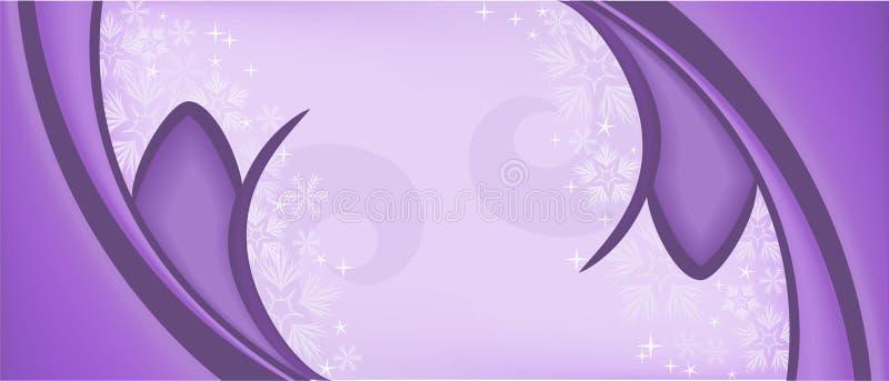 Purple symmetric background vector illustration