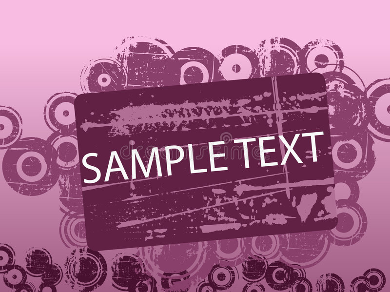 Download Purple Text Copyspace stock vector. Image of illustration - 2997406