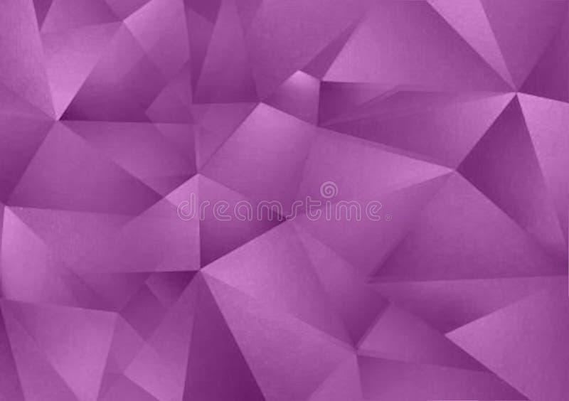 Purple textured background design for wallpaper stock illustration
