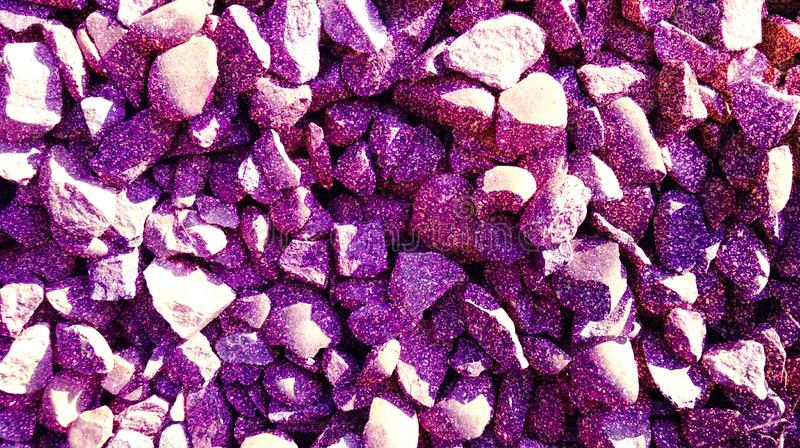 Purple textured background with stone glitter effect background. royalty free stock image