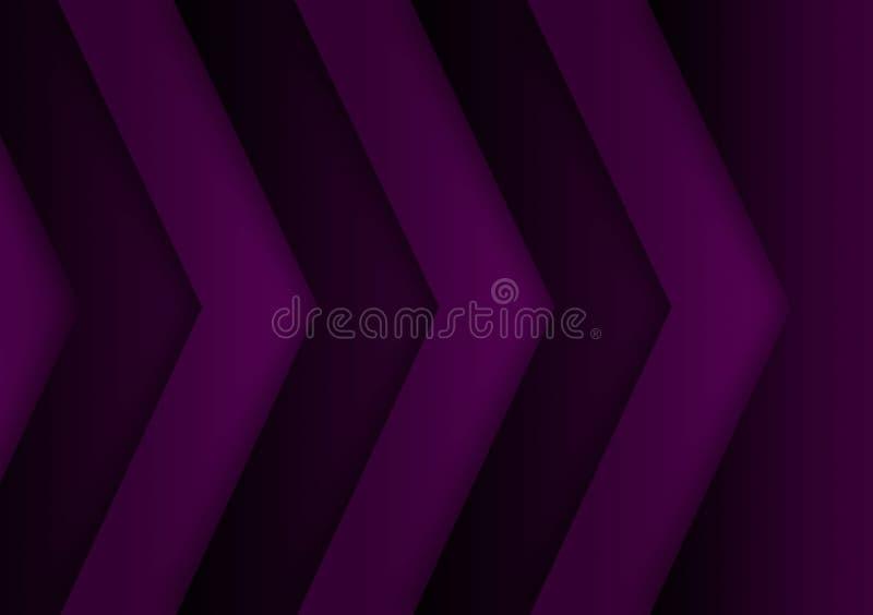 Purple textured line background design for wallpaper stock image