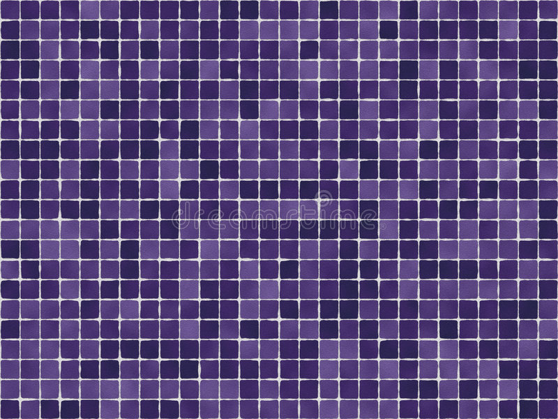 Purple Tiles stock illustration