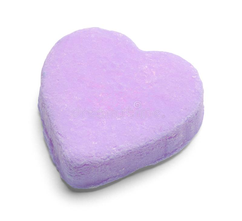 Free Purple Valentines Candy Heart Royalty Free Stock Photography - 153390577
