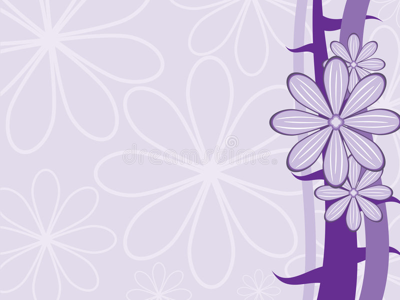Purple vector background stock illustration