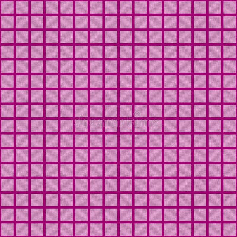 Purple vector square grid pattern. Seamless texture vector illustration