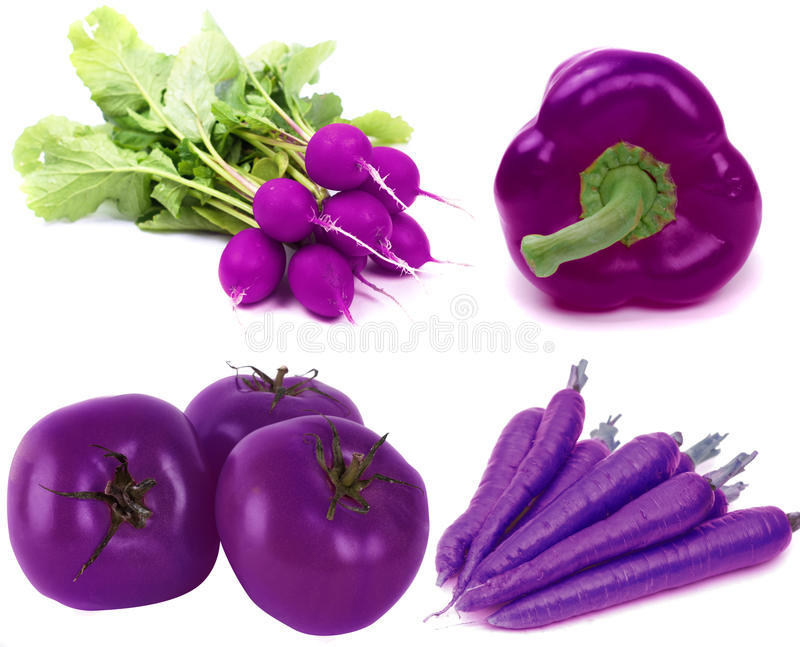 Purple vegetable royalty free stock images