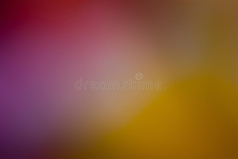 Purple, violet, orange and yellow smooth and blurred wallpaper / background stock photos